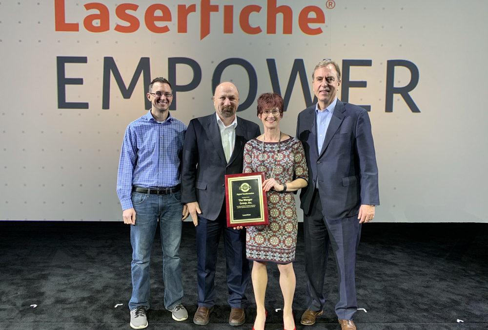The Wenger Group Wins Run Smarter® Award